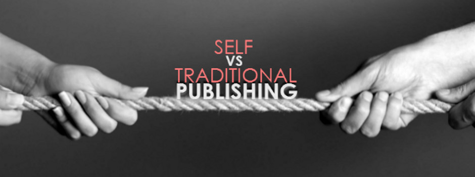 Find out the difference between self publishing and traditional publishing