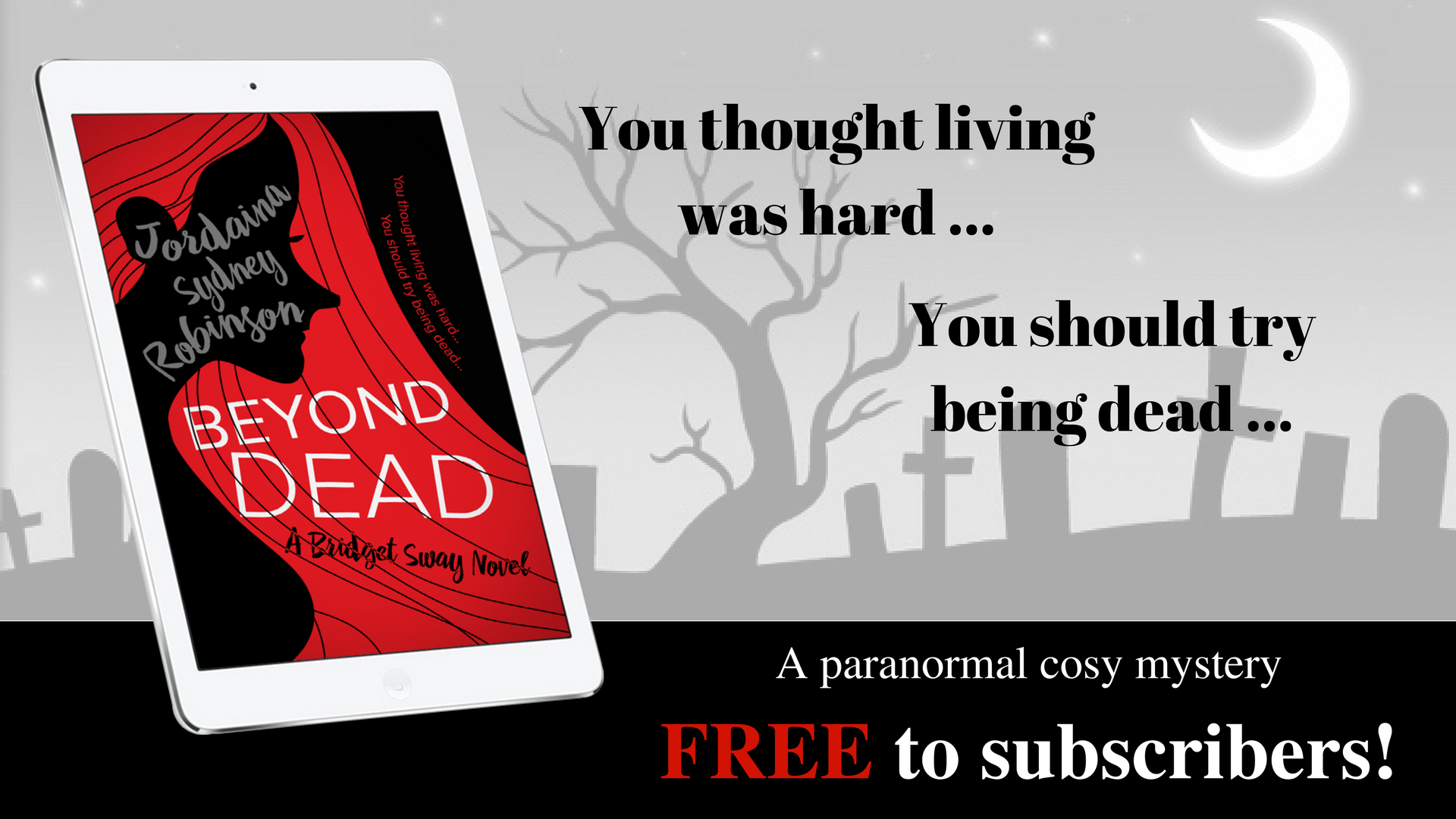 Book Hub is giving away free copies of Jordaina's Beyond Dead