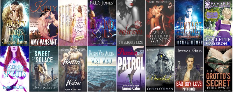 win a bundle of romance novels