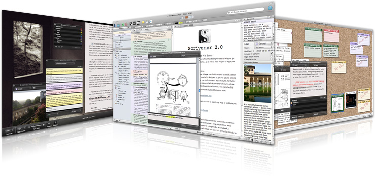 scrivener writing software for self published authors